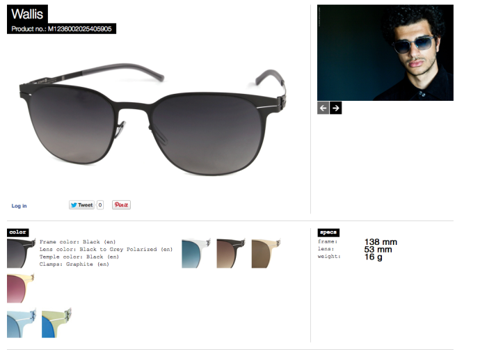 wallis black lens black to grey polarized